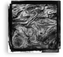 Wood Ink  Canvas Print