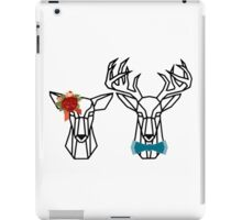 Mr. and Mrs. Deer iPad Case/Skin