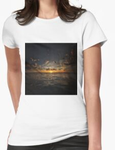 Fantasy Sunset 2 Womens Fitted T-Shirt