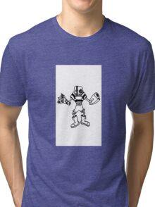 Gerald the Gunslinger [WHITE] Tri-blend T-Shirt