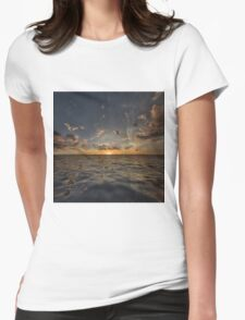Fantasy Sunset 3 Womens Fitted T-Shirt