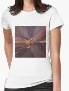 Fantasy Sunset 4 Womens Fitted T-Shirt