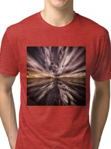 Fantasy Sunset 5 Tri-blend T-Shirt