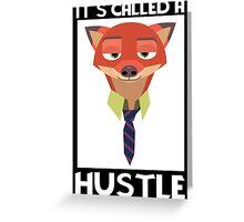 Fox Minialist Greeting Card