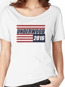 UNDERWOOD 2016 CAMPAIGN  Women's Relaxed Fit T-Shirt
