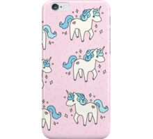 Unicorn Scatter Pattern iPhone Case/Skin