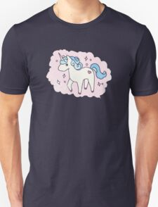 Unicorn Scatter Pattern Unisex T-Shirt
