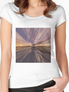 Fantasy Sunset 6 Women's Fitted Scoop T-Shirt