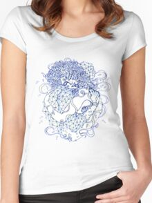 Nature & Techne Women's Fitted Scoop T-Shirt