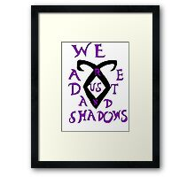The Infernal Devices t-shirt Framed Print