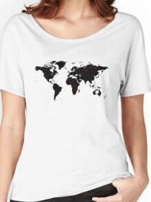 TFB Maps Women's Relaxed Fit T-Shirt