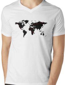 TFB Maps Mens V-Neck T-Shirt