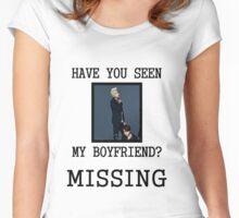BTS Rap Monster - Have You Seen My Boyfriend Women's Fitted Scoop T-Shirt