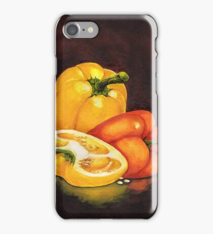 Shelley's Bell Peppers iPhone Case/Skin