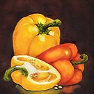 Shelley's Bell Peppers by Sherry Cummings