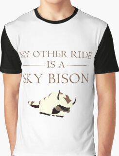 My Other Ride is a Sky Bison Graphic T-Shirt