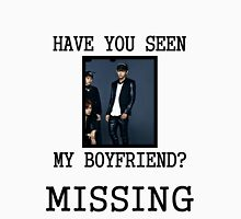 BTS V - Have You Seen My Boyfriend Women's Fitted Scoop T-Shirt