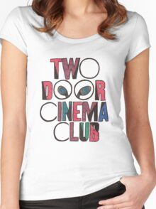 Two Door Cinema Club Women's Fitted Scoop T-Shirt