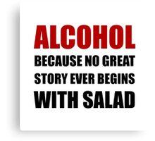 Alcohol Salad Canvas Print