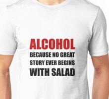 Alcohol Salad Unisex T-Shirt