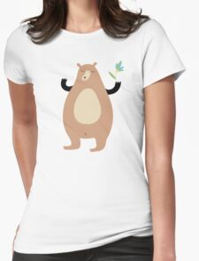 Spring Bear Womens Fitted T-Shirt
