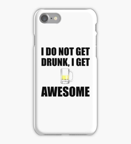 Awesome Drunk iPhone Case/Skin