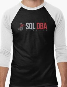 SQL DBA Men's Baseball ¾ T-Shirt