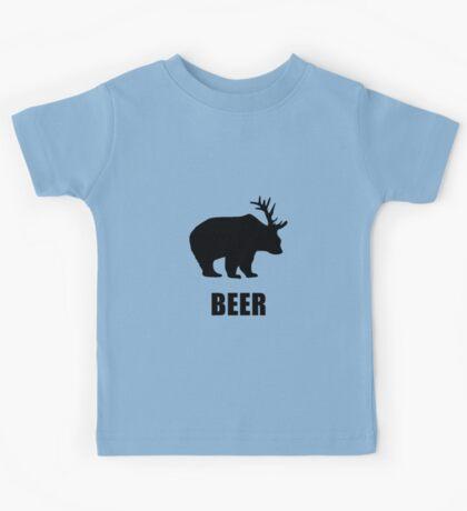 Beer Bear Kids Tee