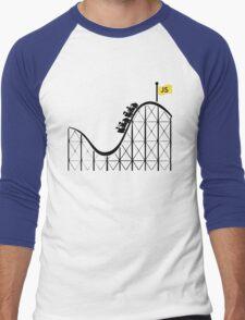 Javascript roller coaster Men's Baseball ¾ T-Shirt