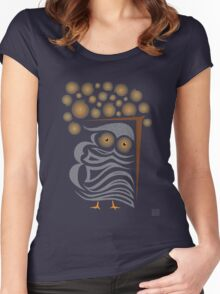 theOWL Women's Fitted Scoop T-Shirt