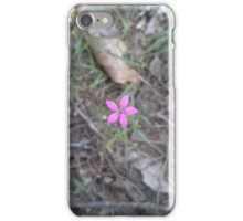 Lost Woods Wildflower iPhone Case/Skin