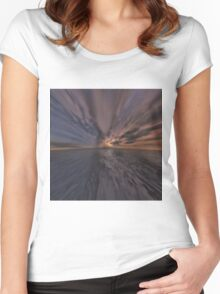 Fantasy Sunset 10 Women's Fitted Scoop T-Shirt