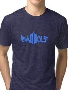 Bad Wolf Doctor Who DR Badwolf Tri-blend T-Shirt