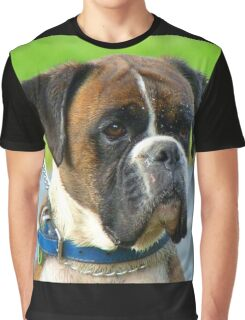 Beautiful Jowls! - Boxer Dog - NZ Graphic T-Shirt