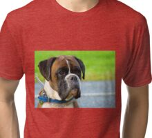 Beautiful Jowls! - Boxer Dog - NZ Tri-blend T-Shirt