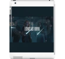 Legends last forever - Shadowhunters  iPad Case/Skin