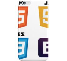 HTML - CSS - JS - Bootstrap iPhone Case/Skin