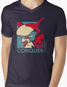 Conquer the World! Mens V-Neck T-Shirt