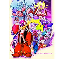 MegaMan 3 - Blues Traveler Photographic Print