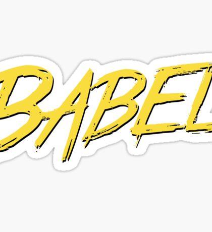 babel js Sticker
