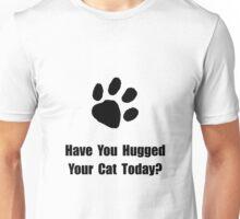 Hugged Cat Unisex T-Shirt