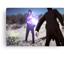 WORLD OF DREAMS - The Masked Man  Canvas Print