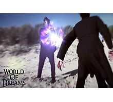 WORLD OF DREAMS - The Masked Man  Photographic Print