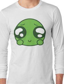 Cute Green Blob Long Sleeve T-Shirt
