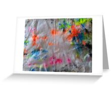 Fluorescent Colour #4 Greeting Card