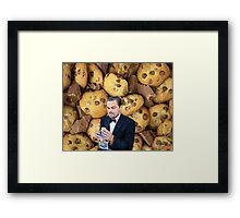 Leonardo DiCaprio Cookie Framed Print