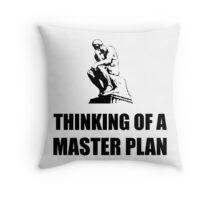Master Plan Throw Pillow
