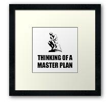 Master Plan Framed Print