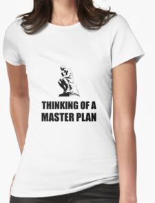 Master Plan Womens Fitted T-Shirt