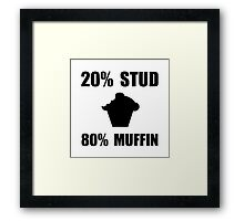 Mostly Muffin Framed Print